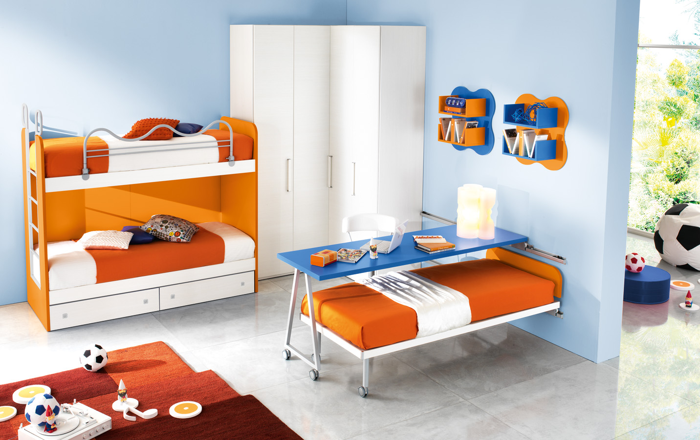 Camere matrimoniali design for Camerette bambini usate