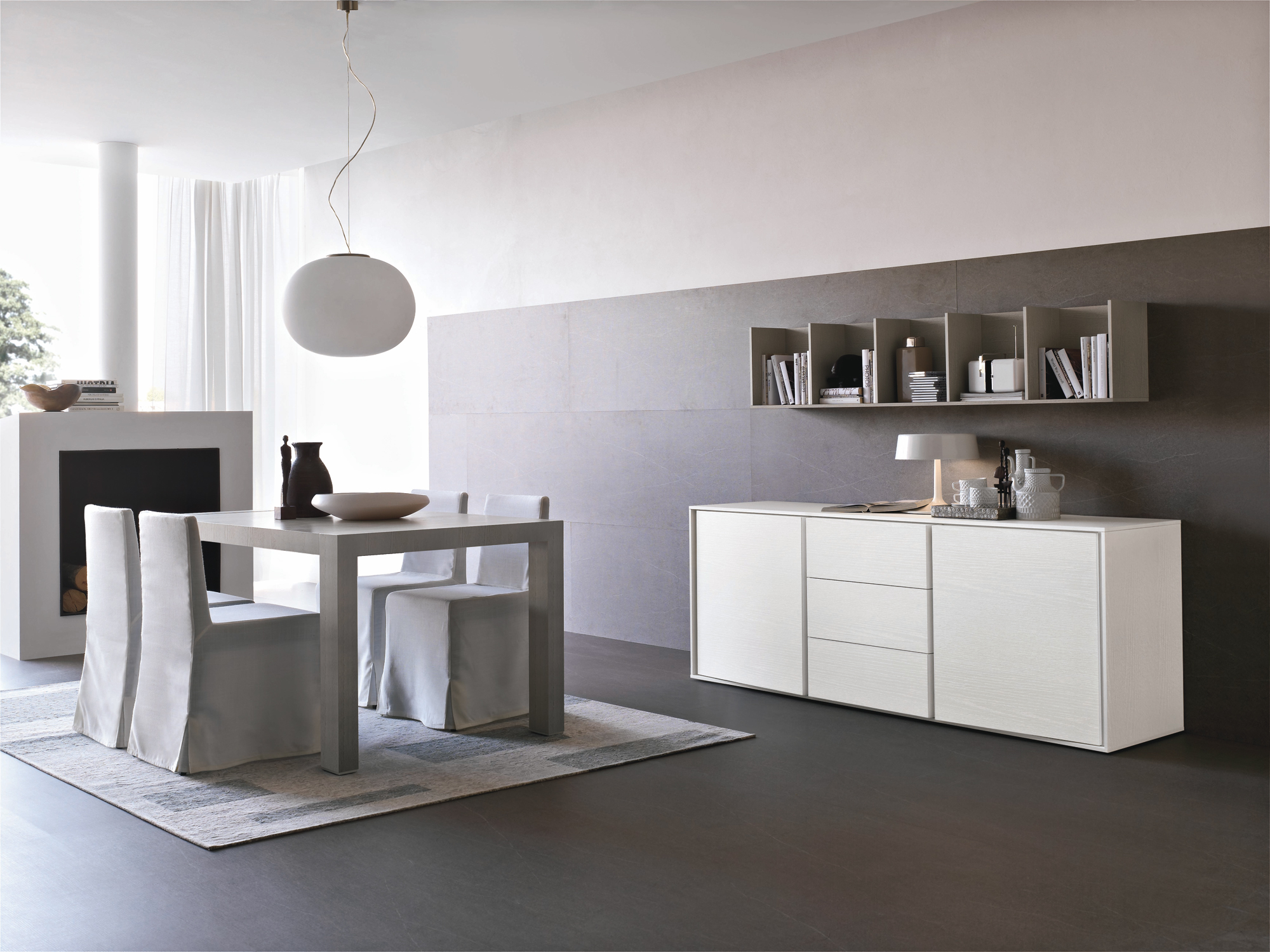 Credenza oliver for Zona living moderna