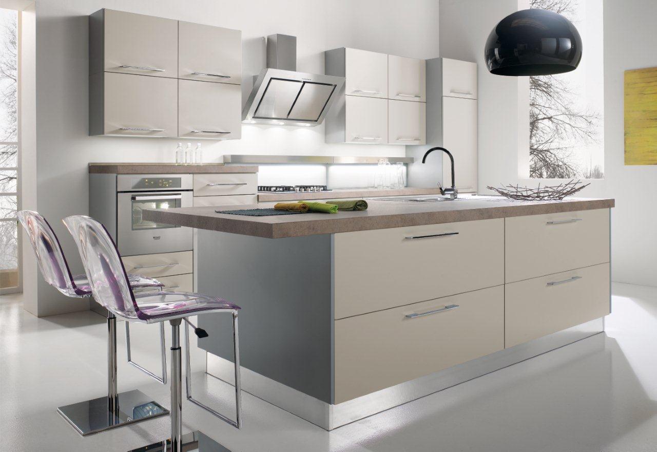 Cucina Rovere Chiaro Sistema 901 : Mondo convenienza cucina stella rovere grigio