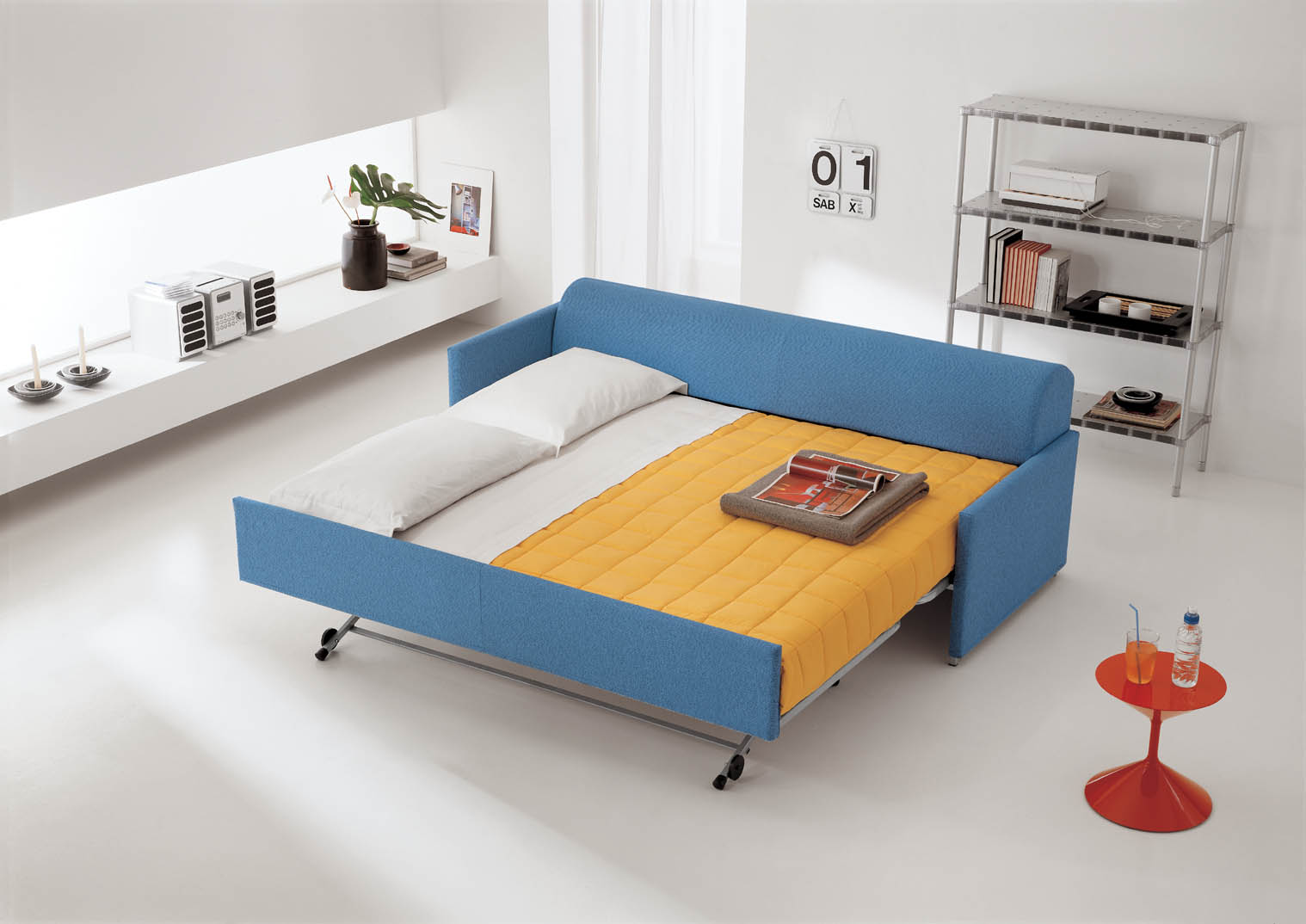 Letto con doghe in legno rete in legno a doghe la essenza base una with letto con doghe in - Divani letto con doghe ...