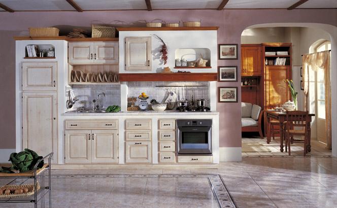 Linea i mulini - Cucine in muratura stile provenzale ...