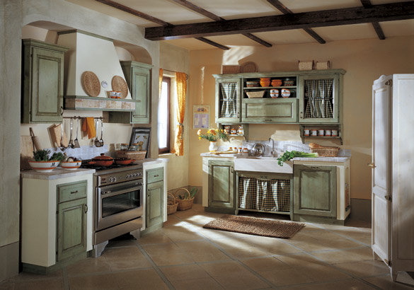 Stunning Cucina Country Verde Images - Embercreative.us - embercreative.us
