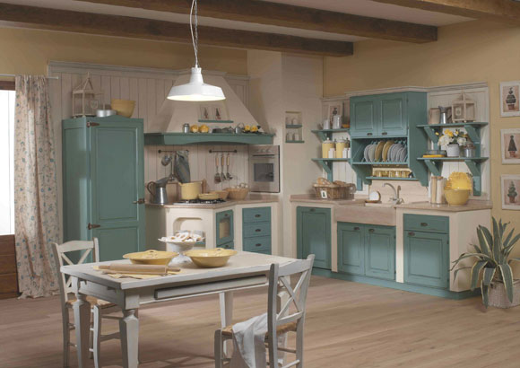 Linea provenzale for Stile country francese